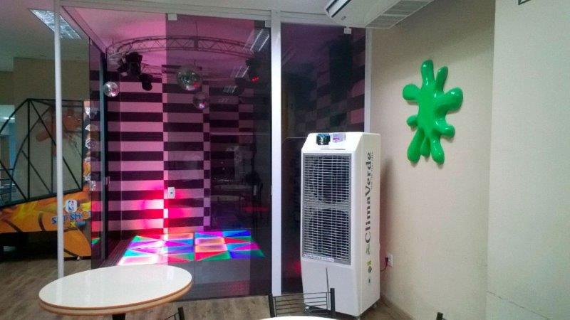 Climatizador evaporativo industrial port til clima verde - Climatizador evaporativo portatil ...