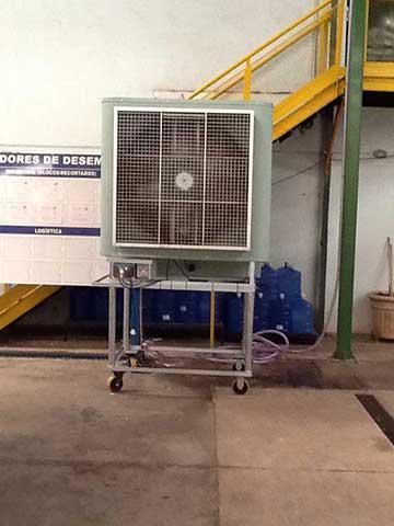 Ventilador industrial clima verde - Ventiladores de agua ...