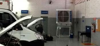 Climatizador de ar evaporativo portátil