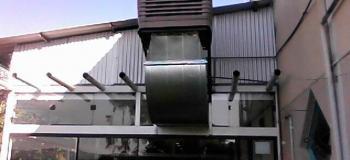 Climatizador industrial de teto